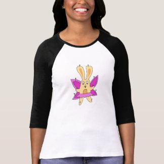 Schmetterlings-Häschen-T - Shirt