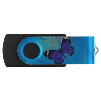 Schmetterlings-Kunst kundengerechter USB Stick