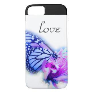 Schmetterlings-Liebe iPhone 7 Hülle