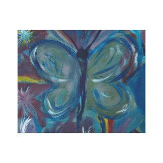 Schmetterlings-Malerei Leinwanddruck