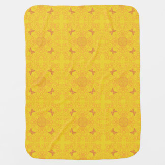 Schmetterlings-Medaillon-Vintages Blick-Gold Kinderwagendecke