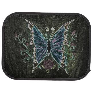 Schmetterlings-Netz Auto Fussmatte