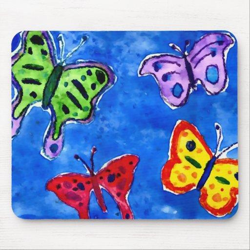 Schmetterlings-Ozean Mauspads