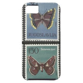 Schmetterlings-Porto-Briefmarken Schutzhülle Fürs iPhone 5