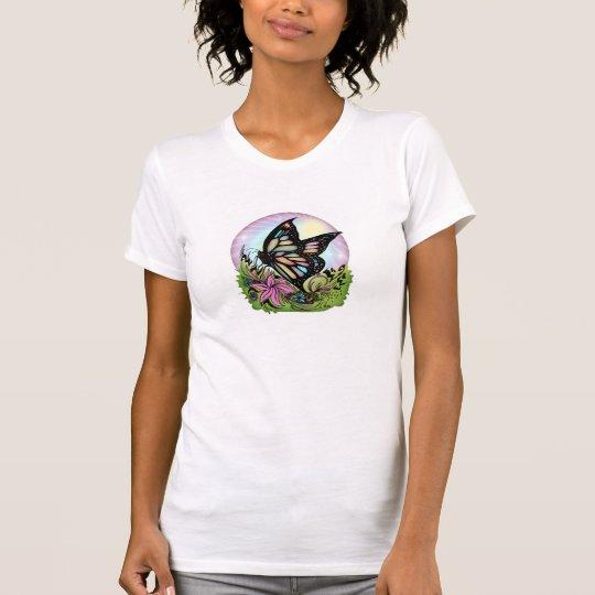 Schmetterlings-Ruhe T-Shirt