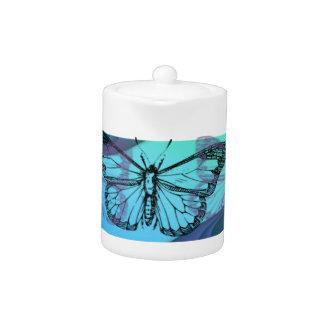 Schmetterlings-Silhouette
