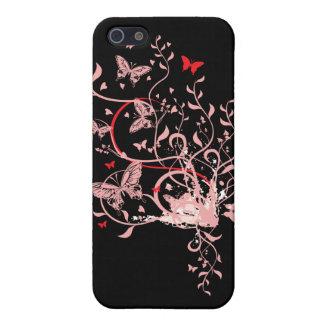 Schmetterlings-Strudel iPhone 5 Schutzhülle