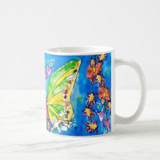 Schmetterlings-Tasse durch Jeffrey Shutt, Alter 6 Kaffeetasse