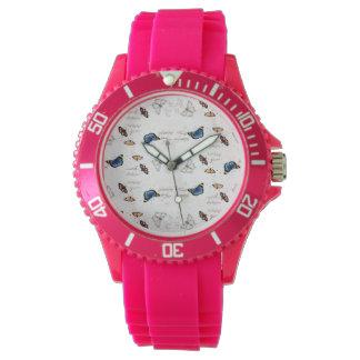 Schmetterlings-Uhr Armbanduhr