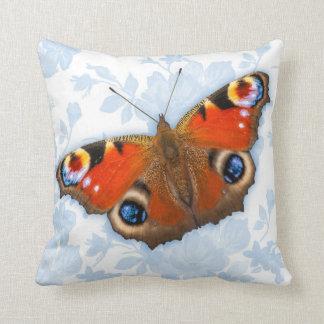 Schmetterlings-Wurfs-Kissen mit zurück gemischt Zierkissen