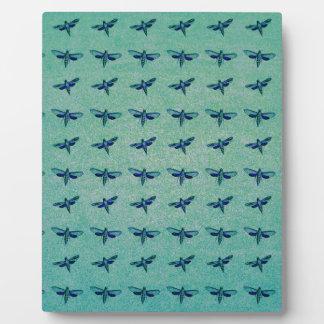 Schmetterlingsblau Fotoplatte
