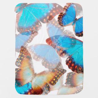 Schmetterlingsdecke Babydecken