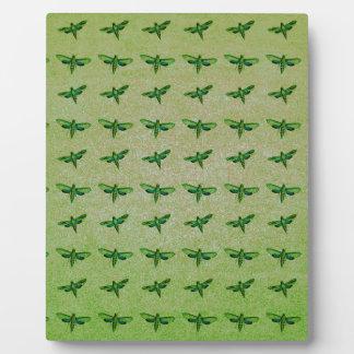 Schmetterlingsgrün+blau Fotoplatte