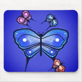 SchmetterlingsMausunterlage Mousepads