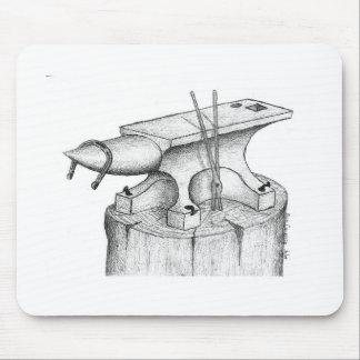 Schmiede-und Hufschmied-Produkte Mousepads