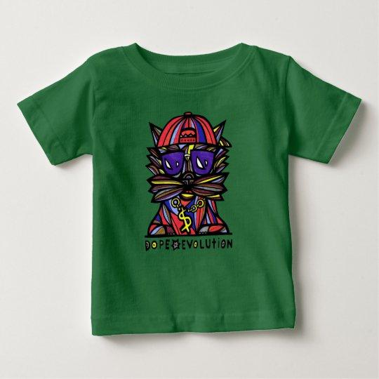 """""""Schmieren-Evolution"""" BuddaKats Baby-T-Shirt Baby T-shirt"""