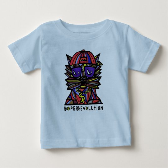 """Schmieren-Evolutions-"" Baby-T - Shirt"
