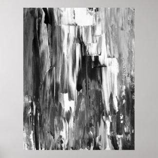 """Schmolz"" abstrakten Poster"