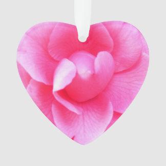 Schmuck - Anhänger - dunkle rosa Kamelien 1 u. 2 Ornament