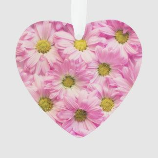 Schmuck - Anhänger - rosa Gerbera-Gänseblümchen Ornament