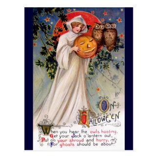 Schmucker: Auf Halloween Postkarte