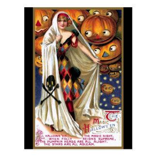 Schmucker: Das magische Halloween Postkarte