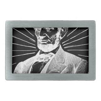 Schmutz Abraham Lincoln Rechteckige Gürtelschnalle