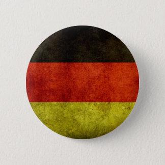 Schmutz-deutscher Flaggen-Knopf Runder Button 5,1 Cm