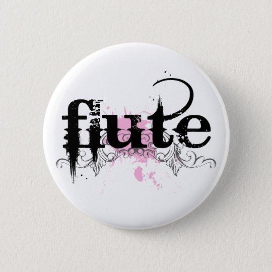 Schmutz-Flöten-Musik-Knopf Runder Button 5,7 Cm