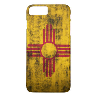 Schmutz-New Mexiko-Flagge iPhone 8 Plus/7 Plus Hülle