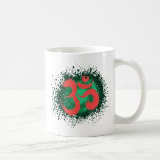 Schmutz-OM Kaffeetasse