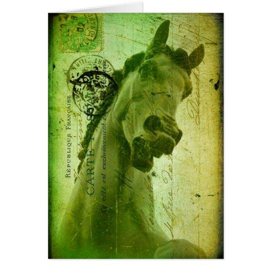Schmutz-Pferd Postkarte Ähnlich Grußkarte