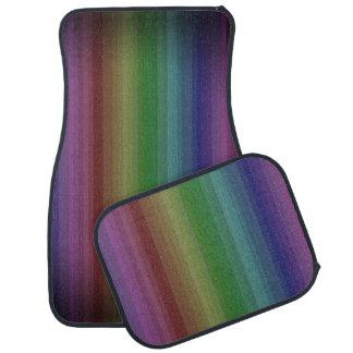 Schmutz-Regenbogen-Rock-Streifen-Linie Muster Automatte