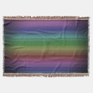 Schmutz-Regenbogen-Rock-Streifen-Linie Muster Decke