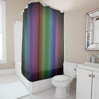 Schmutz-Regenbogen-Rock-Streifen-Linie Muster Duschvorhang