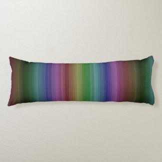 Schmutz-Regenbogen-Rock-Streifen-Linie Muster Seitenschläferkissen
