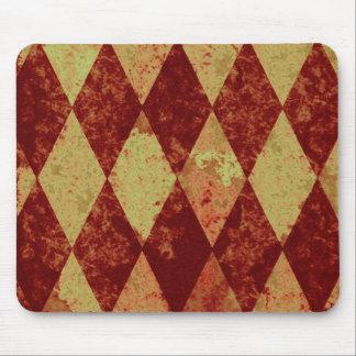 Schmutz-Spaß-Diamant-rotes Gold Mousepad