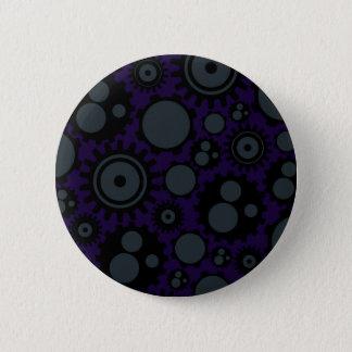 Schmutz Steampunk Gänge Runder Button 5,1 Cm