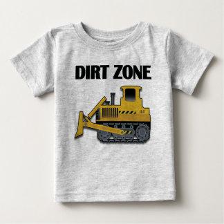 Schmutz-Zone (Planierraupe) - Baby-feines Jersey-T