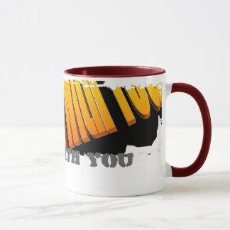 Schmutzige Grenzwecker-Tasse Tasse