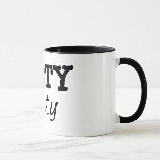 Schmutzige Tasse des Kaffees 30
