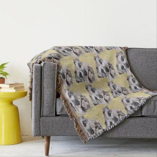 Schnauzer-Wurfs-Decke Decke