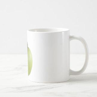 Schnecke und Apfel Kaffeetasse