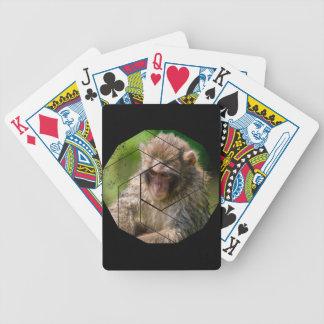 Schnee-Affe Bicycle Spielkarten