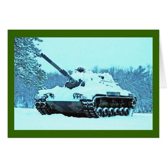 Schnee-Behälter Grußkarte