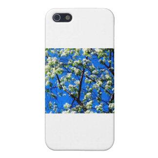Schnee-Blumen iPhone 5 Schutzhüllen
