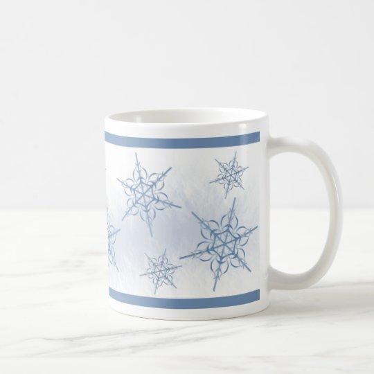Schnee-Flocken Kaffeetasse