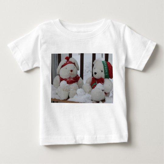 Schnee-Freunde Baby T-shirt
