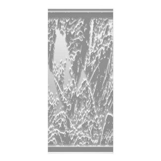Schnee-Kunst Snowwhite Personalisierte Werbekarte