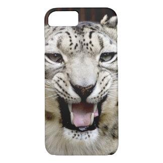 Schnee-Leopard-Gesicht iPhone 8/7 Hülle